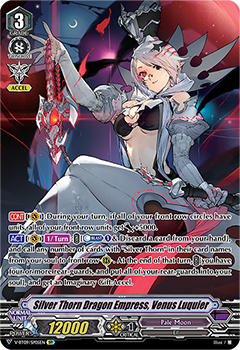 V-BT09/SP05EN Silver Thorn Dragon Empress, Venus Luquier