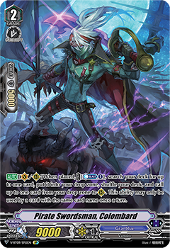 V-BT09/SP15EN Pirate Swordsman, Colombard