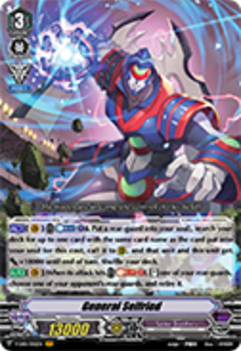 V-EB01/002EN General Seifried - The Destructive Roar Cardfight!! Vanguard! English Trading Card Game