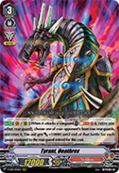 V-EB01/004EN Tyrant, Deathrex - The Destructive Roar Cardfight!! Vanguard! English Trading Card Game
