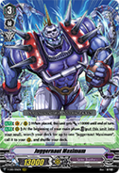 V-EB01/006EN Juggernaut Maximum - The Destructive Roar Cardfight!! Vanguard! English Trading Card Game