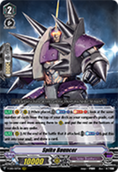 V-EB01/007EN Spike Bouncer - The Destructive Roar Cardfight!! Vanguard! English Trading Card Game