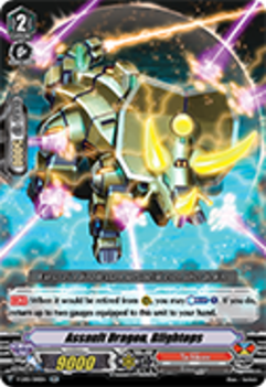 V-EB01/010EN Assault Dragon, Blightops - The Destructive Roar Cardfight!! Vanguard! English Trading Card Game
