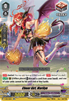 V-EB01/015EN Cheer Girl, Marilyn - The Destructive Roar Cardfight!! Vanguard! English Trading Card Game