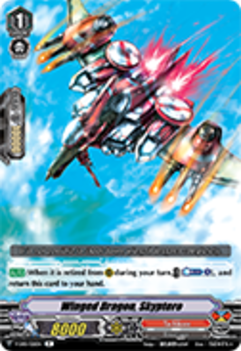 V-EB01/021EN Winged Dragon, Skyptero - The Destructive Roar Cardfight!! Vanguard! English Trading Card Game