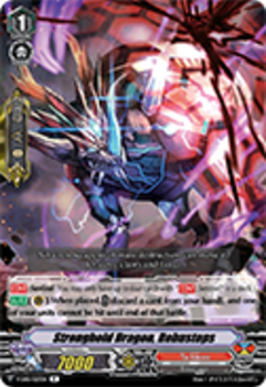V-EB01/023EN Stronghold Dragon, Robustops - The Destructive Roar Cardfight!! Vanguard! English Trading Card Game