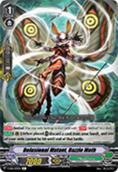 V-EB01/033EN Delusional Mutant, Dazzle Moth - The Destructive Roar Cardfight!! Vanguard! English Trading Card Game