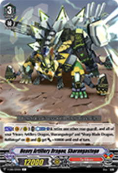 V-EB01/034EN Heavy Artillery Dragon, Sharangastego - The Destructive Roar Cardfight!! Vanguard! English Trading Card Game