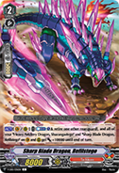V-EB01/036EN Sharp Blade Dragon, Refilstego - The Destructive Roar Cardfight!! Vanguard! English Trading Card Game