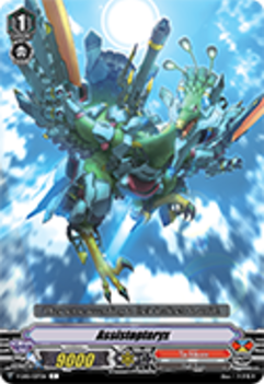 V-EB01/037EN Assistopteryx - The Destructive Roar Cardfight!! Vanguard! English Trading Card Game