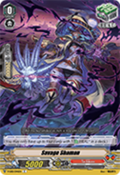 V-EB01/044EN Savage Shaman - The Destructive Roar Cardfight!! Vanguard! English Trading Card Game
