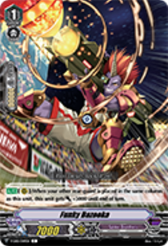 V-EB01/049EN Funky Bazooka - The Destructive Roar Cardfight!! Vanguard! English Trading Card Game
