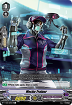 V-EB01/050EN Mecha Trainer - The Destructive Roar Cardfight!! Vanguard! English Trading Card Game