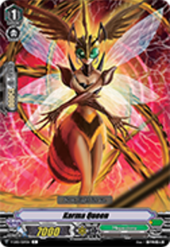 V-EB01/059EN Karma Queen - The Destructive Roar Cardfight!! Vanguard! English Trading Card Game
