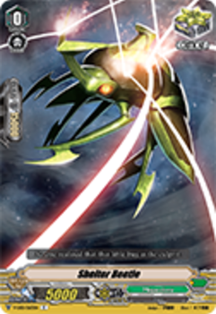 V-EB01/063EN Shelter Beetle - The Destructive Roar Cardfight!! Vanguard! English Trading Card Game