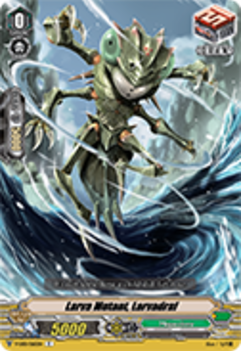 V-EB01/065EN Larva Mutant, Larvadraf - The Destructive Roar Cardfight!! Vanguard! English Trading Card Game