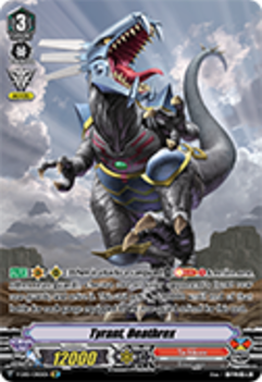 V-EB01/OR01EN Tyrant, Deathrex - The Destructive Roar Cardfight!! Vanguard! English Trading Card Game