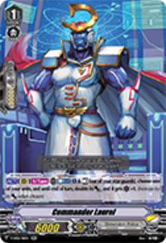 V-EB02/011EN Commander Laurel - Champions of the Asia Circuit Cardfight!! Vanguard! English Trading Card Game