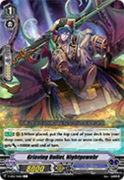 V-EB02/046EN Grieving Bullet, Nightgewehr - Champions of the Asia Circuit Cardfight!! Vanguard! English Trading Card Game