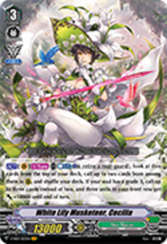 V-EB03/003EN White Lily Musketeer, Cecilia