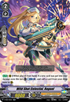 V-EB03/011EN Wild Shot Celestial, Raguel - ULTRARARE MIRACLE COLLECTION Cardfight!! Vanguard! English Trading Card Game