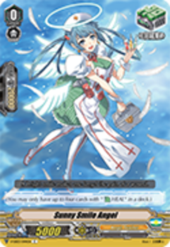 V-EB03/044EN Sunny Smile Angel - ULTRARARE MIRACLE COLLECTION Cardfight!! Vanguard! English Trading Card Game