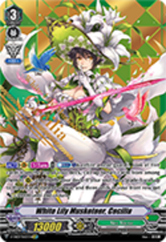 V-EB03/SV03EN White Lily Musketeer, Cecilia