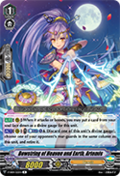 V-EB04/020EN Bowstring of Heaven and Earth, Artemis - The Answer of Truth Cardfight!! Vanguard! English Trading Card Game
