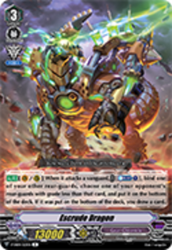 V-EB04/023EN Escrude Dragon - The Answer of Truth Cardfight!! Vanguard! English Trading Card Game