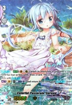 V-EB05/SSP03EN Colorful Pastorale, Serena (Silver Signature) - Primary Melody Cardfight!! Vanguard! English Trading Card Game