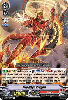 V-EB06/022EN Fire Rage Dragon