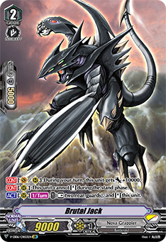 V-EB06/OR03EN Brutal Jack - Light of Salvation, Logic of Destruction Cardfight!! Vanguard! English Trading Card Game