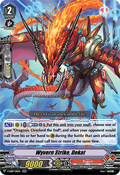 V-EB07/011EN Wyvern Strike, Dekat - The Heroic Evolution Cardfight!! Vanguard! English Trading Card Game
