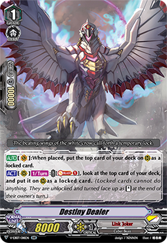 V-EB07/018EN Destiny Dealer - The Heroic Evolution Cardfight!! Vanguard! English Trading Card Game