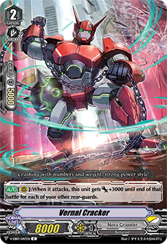 V-EB07/047EN Vernal Cracker - The Heroic Evolution Cardfight!! Vanguard! English Trading Card Game