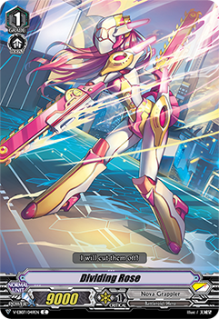 V-EB07/049EN Dividing Rose - The Heroic Evolution Cardfight!! Vanguard! English Trading Card Game