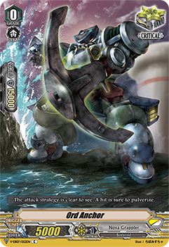 V-EB07/052EN Ord Anchor - The Heroic Evolution Cardfight!! Vanguard! English Trading Card Game
