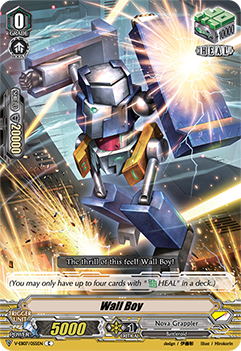 V-EB07/055EN Wall Boy - The Heroic Evolution Cardfight!! Vanguard! English Trading Card Game