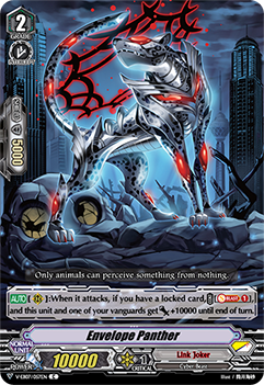 V-EB07/057EN Envelope Panther - The Heroic Evolution Cardfight!! Vanguard! English Trading Card Game