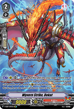 V-EB07/SP07EN Wyvern Strike, Dekat - The Heroic Evolution Cardfight!! Vanguard! English Trading Card Game