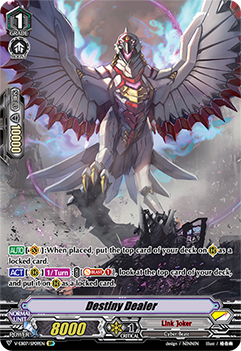 V-EB07/SP09EN Destiny Dealer - The Heroic Evolution Cardfight!! Vanguard! English Trading Card Game