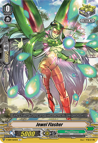 V-EB09/064EN Jewel Flasher - The Raging Tactics Cardfight!! Vanguard! English Trading Card Game
