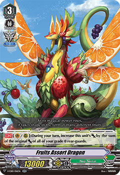 V-EB10/016EN Fruits Assort Dragon