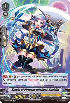 V-EB10/022EN Knight of Virtuous Intellect, Gunhild
