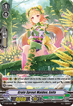 V-EB10/031EN Grain Sprout Maiden, Enifa - The Mysterious Fortune Cardfight!! Vanguard! English Trading Card Game