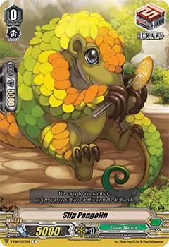 V-EB10/053EN Slip Pangolin - The Mysterious Fortune Cardfight!! Vanguard! English Trading Card Game
