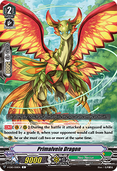 V-EB10/058EN Primalvein Dragon - The Mysterious Fortune Cardfight!! Vanguard! English Trading Card Game