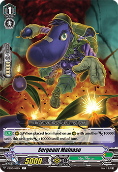 V-EB10/061EN Sergeant Malnasu - The Mysterious Fortune Cardfight!! Vanguard! English Trading Card Game