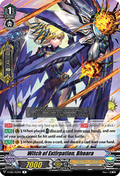 V-EB12/022EN Witch of Extirpation, Bheara - Team Dragon's Vanity! Cardfight!! Vanguard! English Trading Card Game