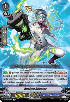 V-EB12/033EN Analyze Shooter - Team Dragon's Vanity! Cardfight!! Vanguard! English Trading Card Game